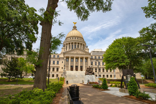 Mississippi State Capitol building, Jackson, MS