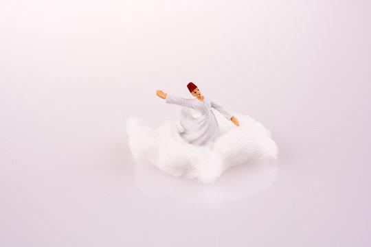 Sufi Derviş on a Cloud