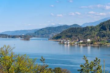 Wörther See - Lake view - Wörthersee, Klagenfurt, Carinthia, Austria