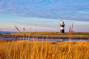 Lighthouse Kleiner Preuße near Wremen