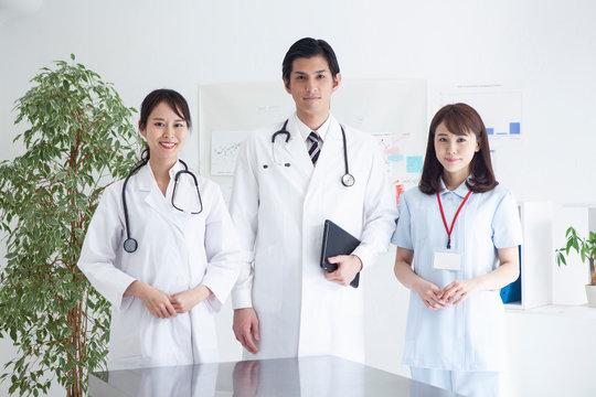 若手医師たちのポートレート