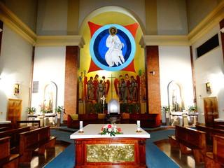 chiesa santa maria immacolata e san vincenzo de' paoli,roma,italia.