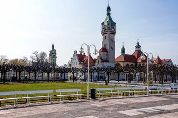 Sopot Stadt Parkanlage Gebäude