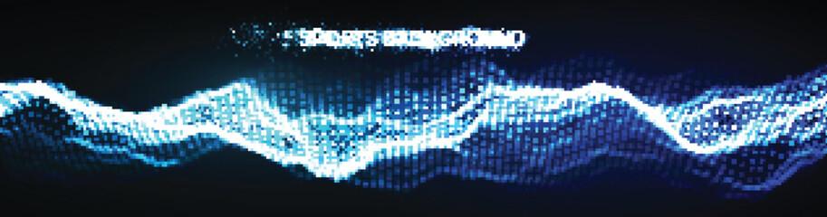 Sport background vector illustration. Mixed media run, soccer website background. Multi sport team concept. Soccer website background.