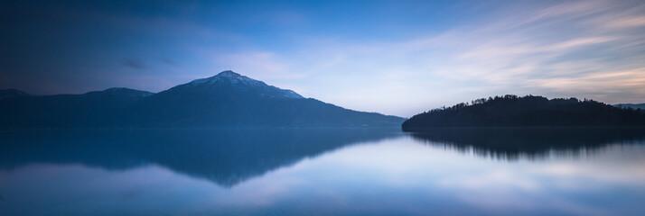 Zen landscape. Panorama