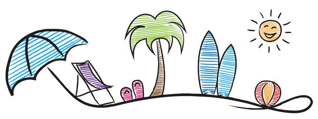 Sommerurlaub Logo