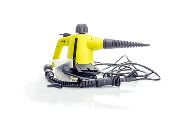 Handheld steam cleaner for cleaning the house