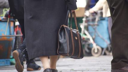 Menschen im Einkaufsstress