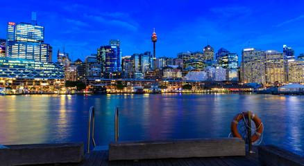 Fototapete - Darling Harbour, Sydney, Australia