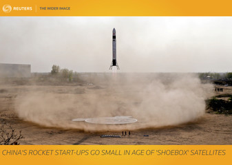 The Wider Image: China's start-ups go small in age of 'shoebox' satellites