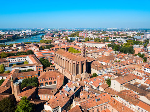 Jacobins Church in Toulouse, France