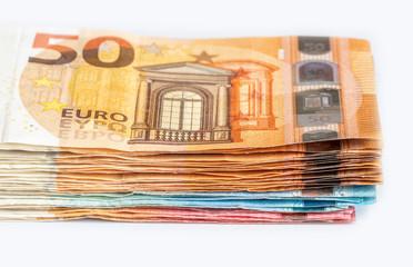 Geldstapel mit tausend Euro, Währung Deutschland Europa