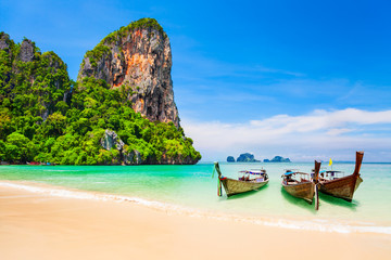 Clear water beach in Thailand Wall mural