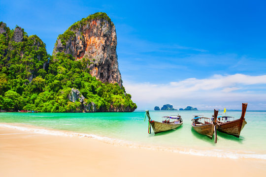 Clear water beach in Thailand