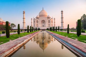 Wall Mural - Taj Mahal marble mausoleum, Agra