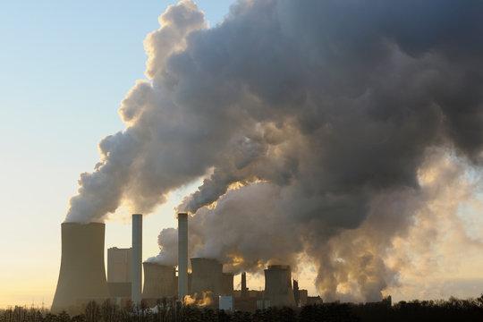 Brown Coal Power Station, North Rhine-Westphalia, Germany, Europe