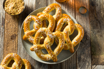 Homemade Bavarian Soft Pretzels