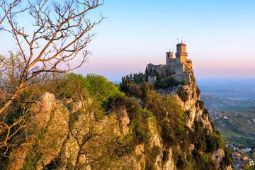 Guaita castle, the First Tower of San Marino Wall mural