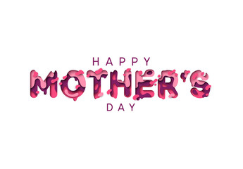 Happy Mothers Day greeting card.