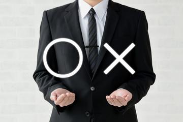 ビジネスイメージ―正解か不正解か