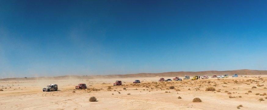 4L in the Moroccan desert