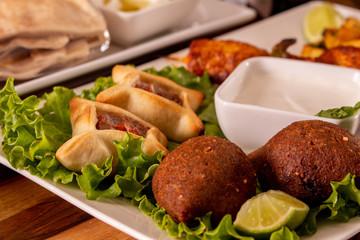 Gastronomía Árabe, Kibe, Sfiha
