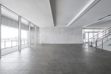 Printed kitchen splashbacks Cat Entrance hall and empty floor tile, interior space