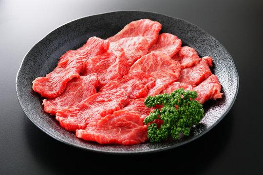 黒毛和牛 焼肉用 みすじ かた