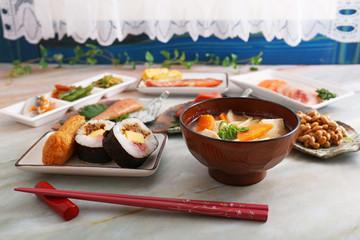 美味しそうな日本料理
