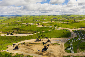 Wunpost oil mining fields