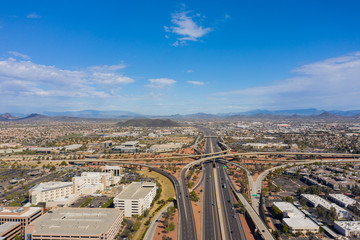 Wall Mural - Aerial photo Phoenix Arizona