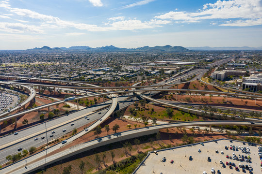 Aerial photo Phoenix Arizona