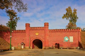 Historic Prussian fortress Boyen in Gizycko, Masuria, Poland  Fototapete