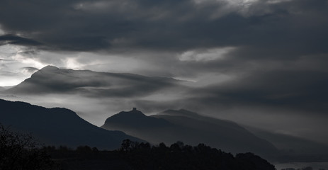 Leuchtenburg Wolkenstimmung