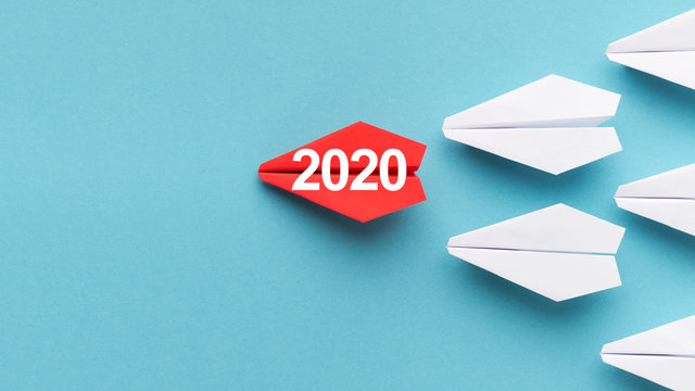2020 year trends concept