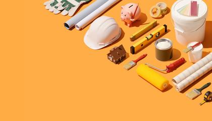 Obraz Home renovation and construction - fototapety do salonu
