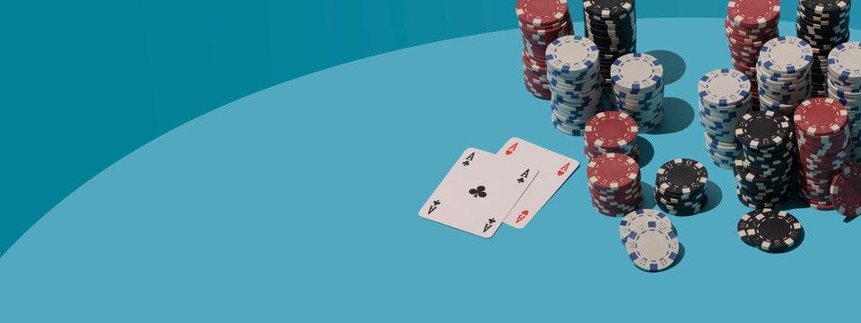 Winning Texas Hold 'em poker game