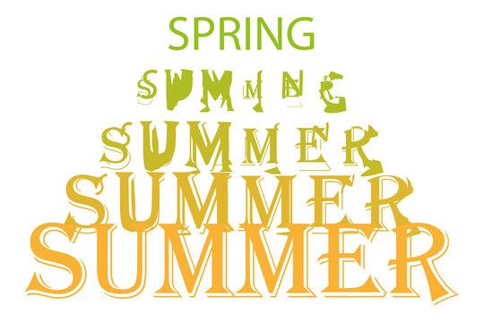 Paso de primavera a verano.