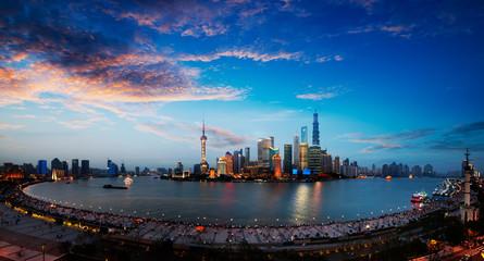 Fototapeta shanghai china