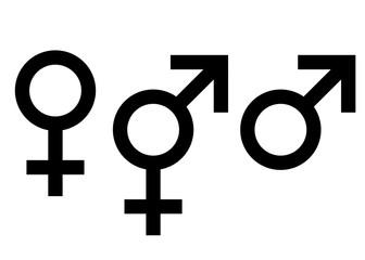 Geschlecht Symbole