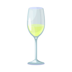 Isolated object of wine and glass logo. Collection of wine and transparent stock symbol for web.