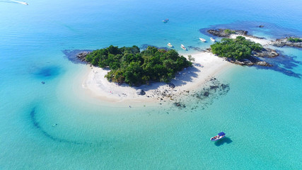 Island of Cataguas - Angra dos Reis - Rio de Janeiro - Brazil - Imagem