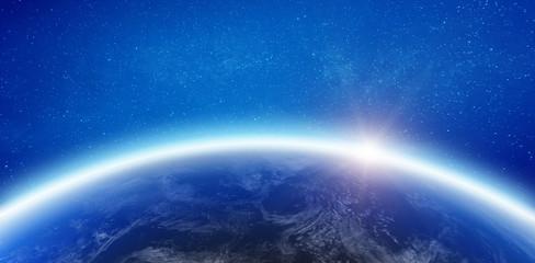 Wall Mural - Atmosphere Earth horizon