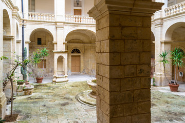 Mdina is a quiet city in Malta.