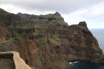 Malerischer Küstenstreifen in der Nähe von Ponta do Sol, Kap Verden