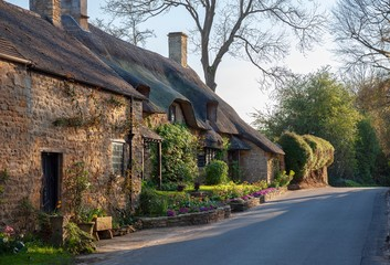 Broad Campden village near Chipping Campden, Cotswolds, Gloucestershire, England