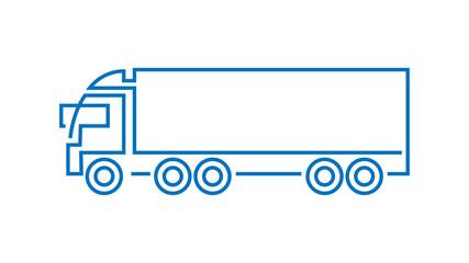 Obraz Ciężarówka logo wektor - fototapety do salonu