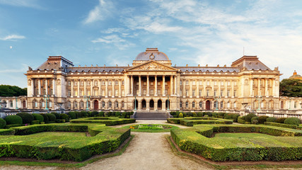 Belgian Royal Palace in Brussels Wall mural