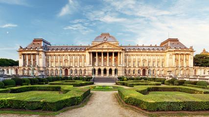 Foto op Canvas Brussel Belgian Royal Palace in Brussels
