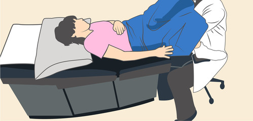 Pelvic exam well woman yearly exam with doctor